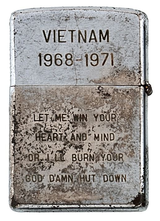 Zippo lighters from Vietnam