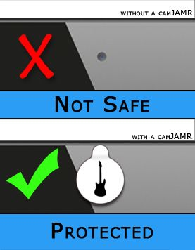 "What is a CamJAMR?  It is a removable and reusable ""sticker"" to cover your webcam cameras from creeps hacking into your camera!  Hackers can get into laptop webcams, smartphone cameras, and tablet cameras, but with this awesome cover, you can protect yourself.  I found this online while searching for something to cover my new laptop's webcam because I have seen horrible videos of hackers hacking into people's webcams and watching everything they do."