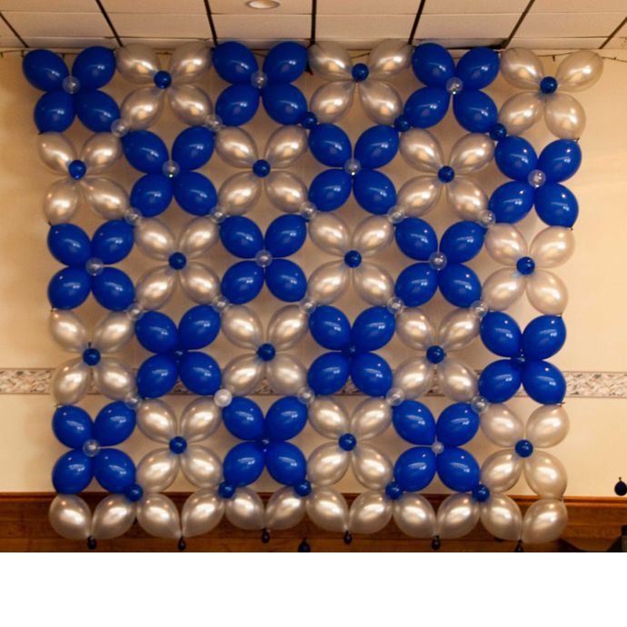 17 best ideas about balloon wall on pinterest balloon for Balloon decoration on wall for birthday