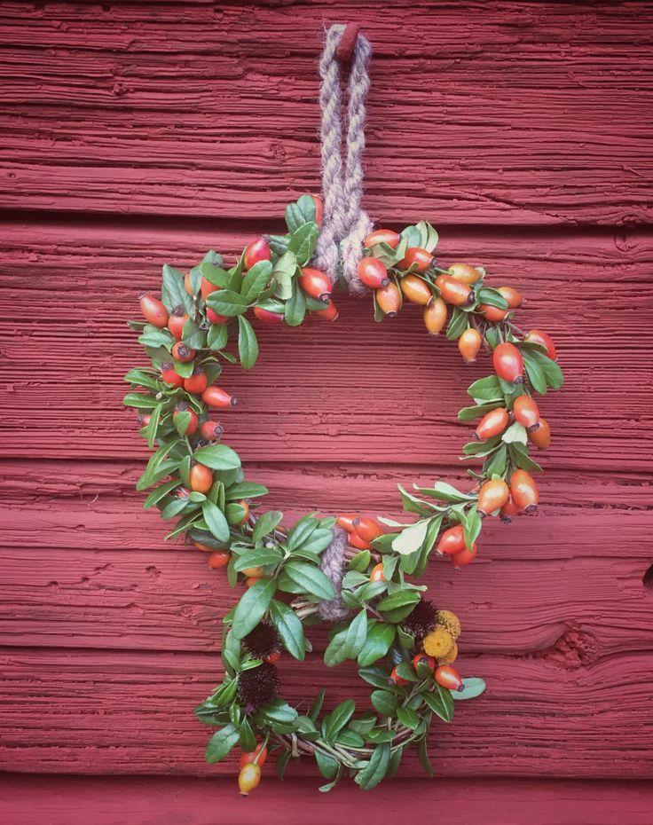 Joulukranssi, kranssi, wreath, kranser, Xmas, DIY, crafts