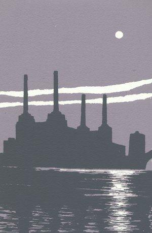 Battersea Power Station screenprint