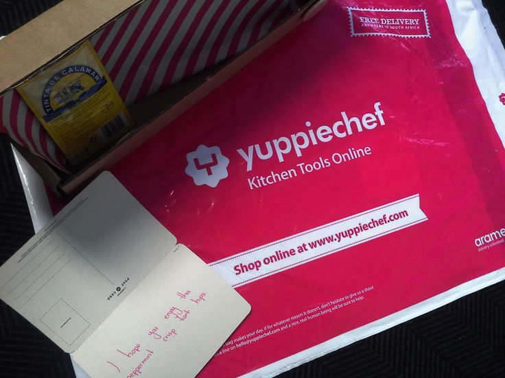 Sending me love gifts at work. Some Nortindal squid ink arrived at my work from Kris through Yuppie chef <3 Oct 2013