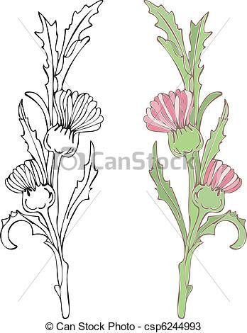 23 Best Thistle Images On Pinterest Thistles Botanical