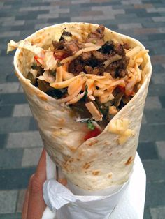 Turkish Kebab Wrap