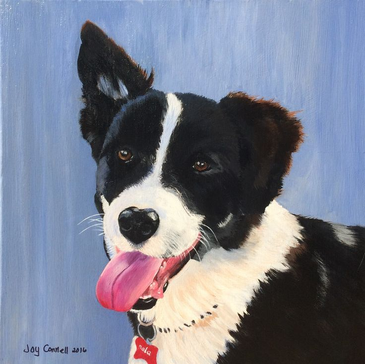 """Nala Pup"" by Joy Connell. Paintings for Sale. Bluethumb - Online Art Gallery"