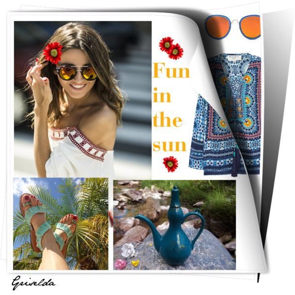 Fun in the sun by artspirit on Polyvore featuring Rococo and teaparty
