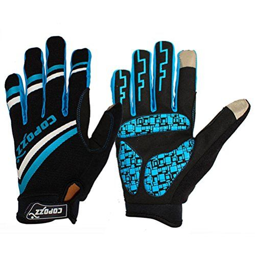 COPOZZ Cycling Gloves with Gel Pad for Winter Rides Shock-absorbing Full Finger Bike Gloves Bicycle Gloves (Blue, XL) Copozz http://www.amazon.com/dp/B019I68CJ2/ref=cm_sw_r_pi_dp_mR9Dwb029MZHW