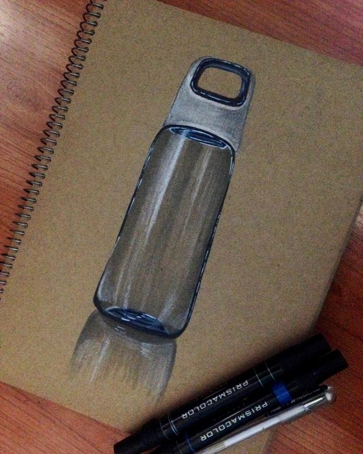Glass bottle 😎 #sketching #markerrendering #markersketching #prismacolor #markersketch #marker #mydrawing #sketch_daily #iddrawing #designsketch #pencilsketch #doodleday #doodleart #doodle #draw #idsketch #ID