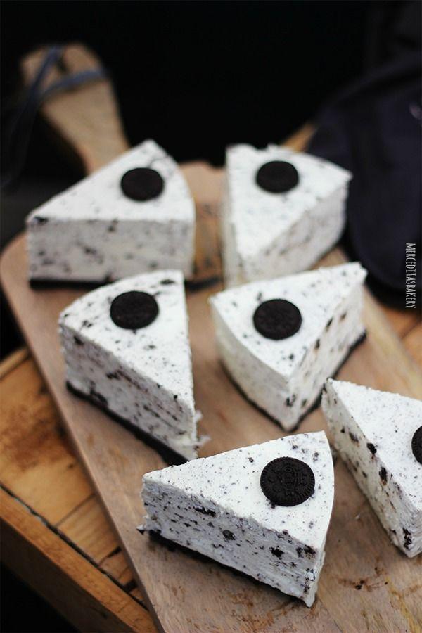 Cheesecake de oreo (sin horno)