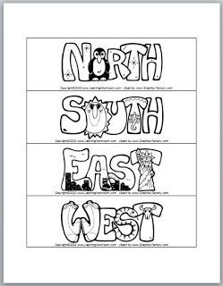 Cardinal Directions Signs Freebie                              …                                                                                                                                                                                 More