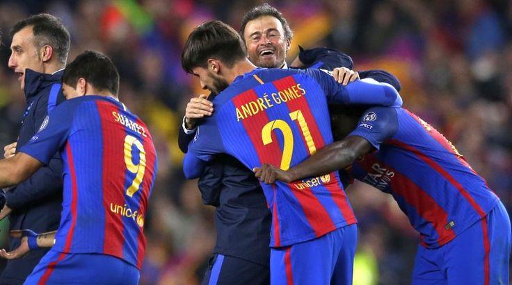 Barcelona la euforia y festejo de los culés tras goleada