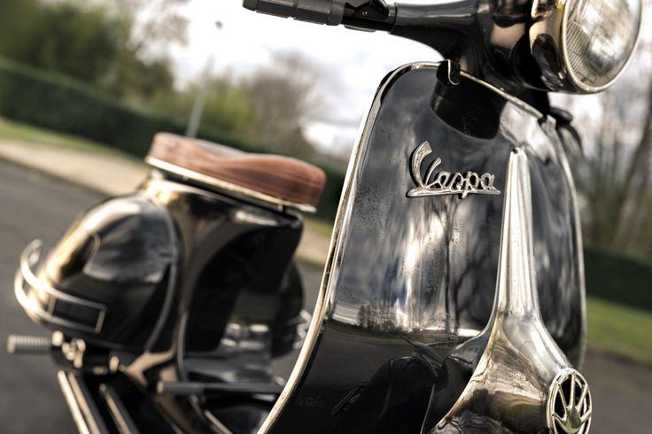Vintage Vespa rendered in KeyShot by Magnus Skogsfjord. Model from Turbosquid.