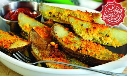 Black Pepper and Lime Oven Fries | The Potato Chef | Pinterest