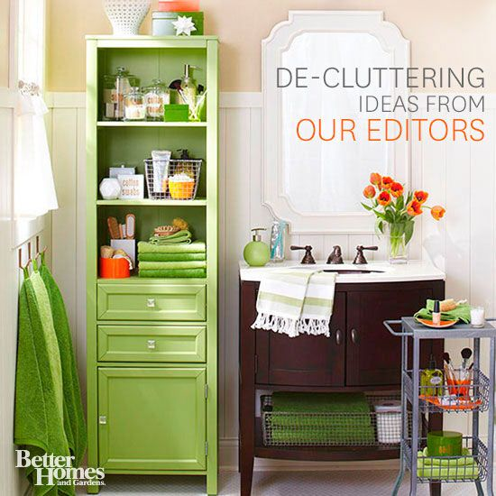 Declutter your home and get organized with these storage solutions for every room in your home.