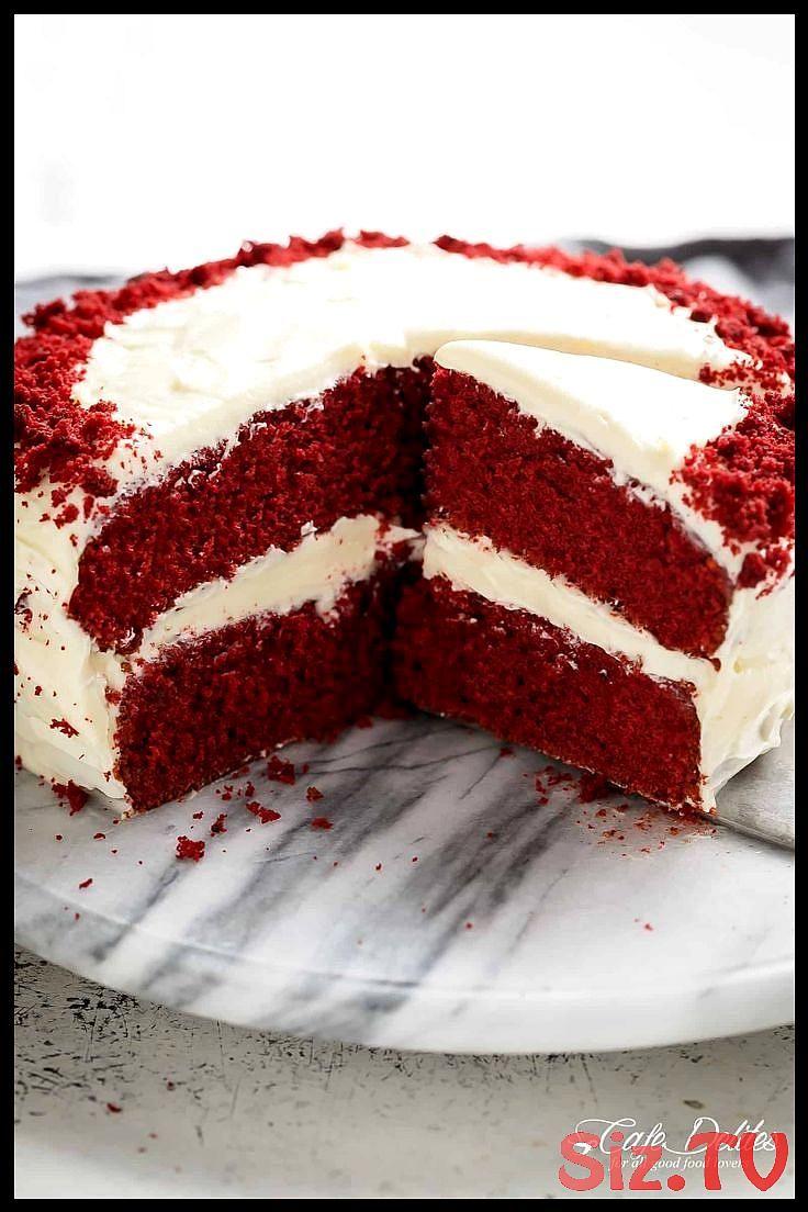 Das Beste Essen An Einem Ort Red Velvet Cake Best Cake The A Food Location Red Das Beste Essen An Tortenverzierungstipps Frischkasekuchen Rot Kuchen