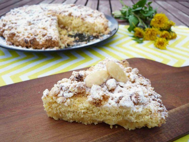 Italský drobenkový koláč s mandlemi - Ochutnejte svět