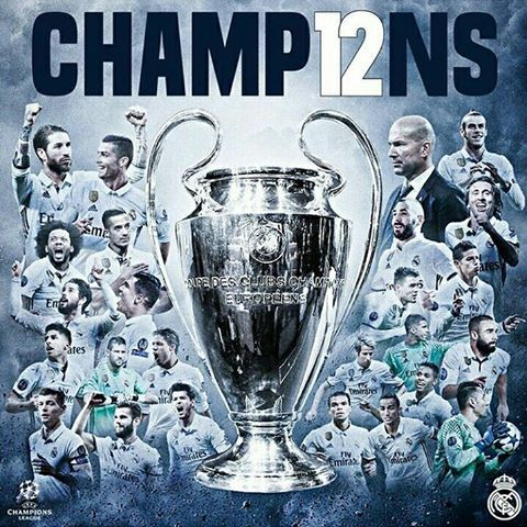 #CHAMP12NS# #Real Madrid# #UCLWINNER#