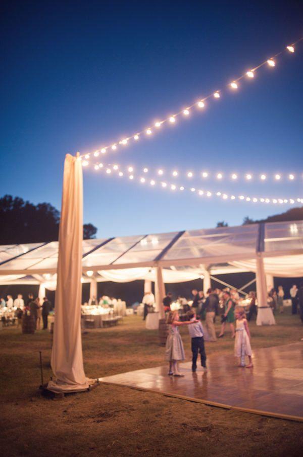 37 best wedding gobo projection images on pinterest for Outdoor dance floor ideas