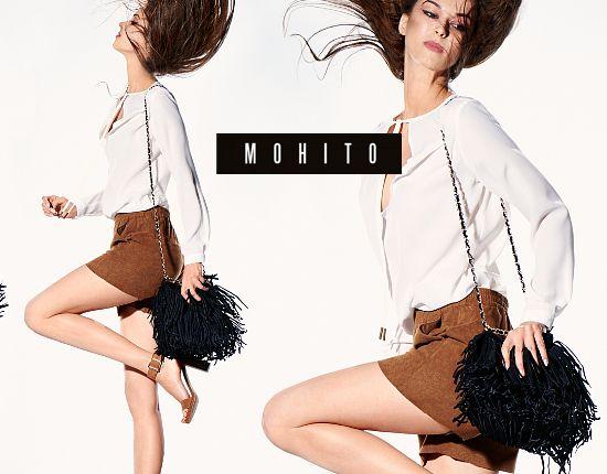 Mohito na jesień 2015 - lookbook w stylu lat 70.