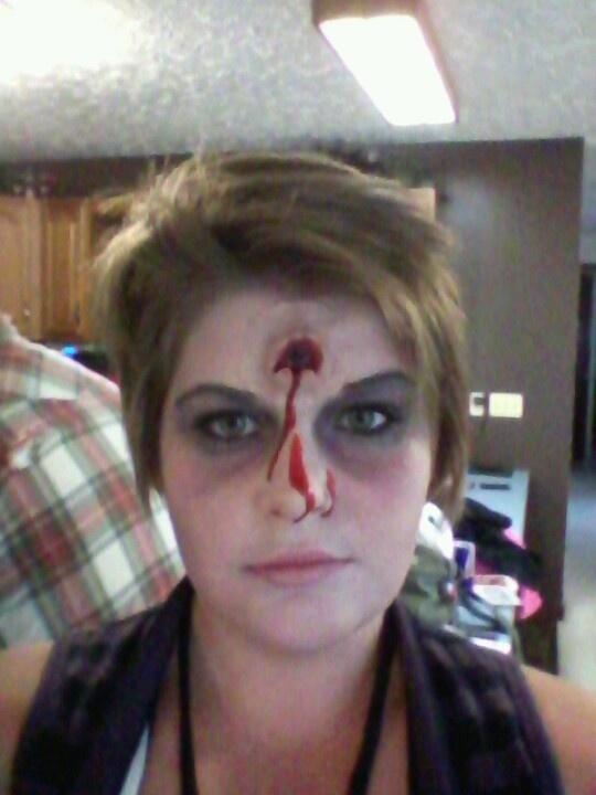 zombie halloween face paint - Zombie Halloween Faces
