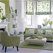 Blue Green Living Room