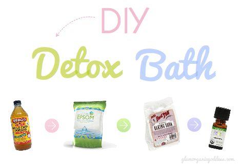 DIY Beauty | Detox Bath Recipe - The Glamorganic Goddess