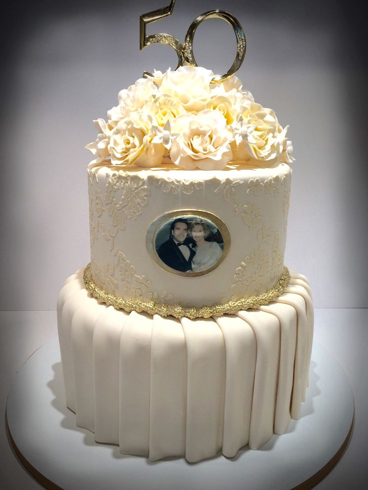 50th wedding cake ideas best 25 golden anniversary cake ideas on 50th 1161