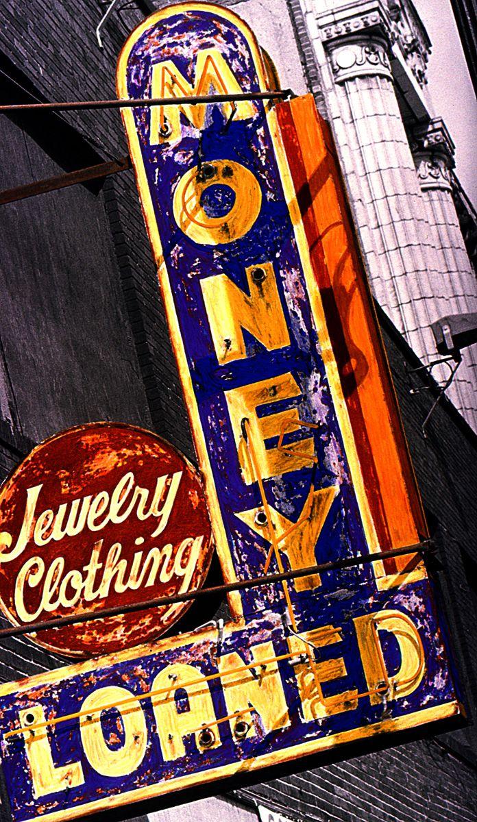 156 best vintage signs images on pinterest vintage for Pawn shops that buy wedding dresses