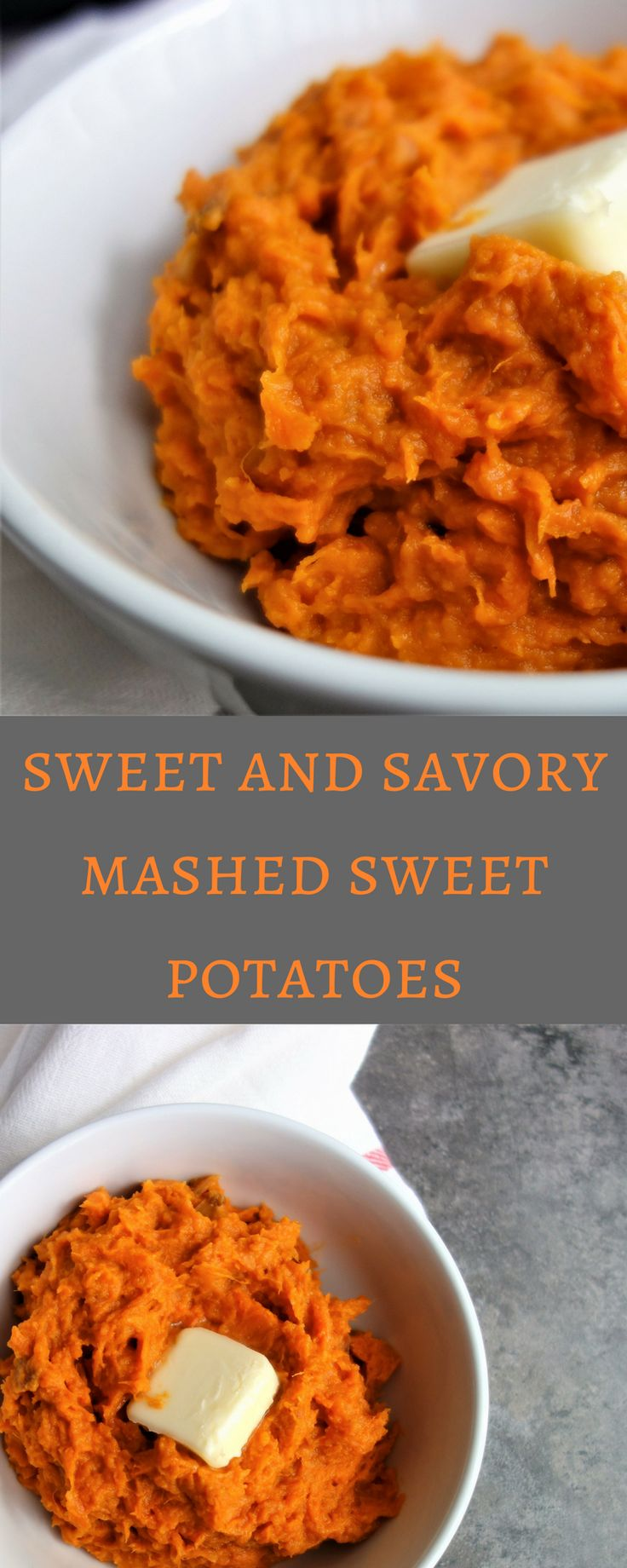 The Most Amazing Sweet and Savory Mashed Sweet Potatoes. sweet potato recipe, mashed sweet potato recipe, sweet potatoes easy, healthy recipes, southern, brown sugar, sweet mashed potato recipe, thanksgiving recipes, holiday recipes, make ahead sweet potatoes, easy sweet potato recipe