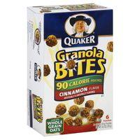 Quaker Granola Bites (unfortunately they were discontinued!)