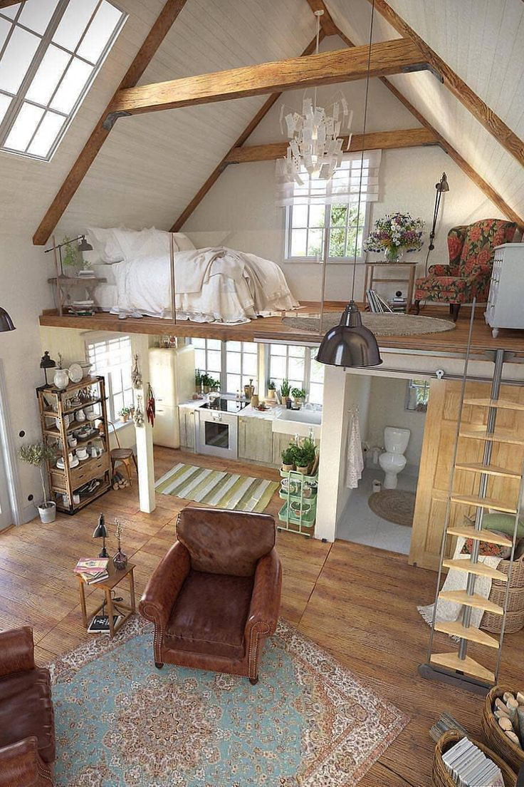 Stylish living idea in the Bohemian style