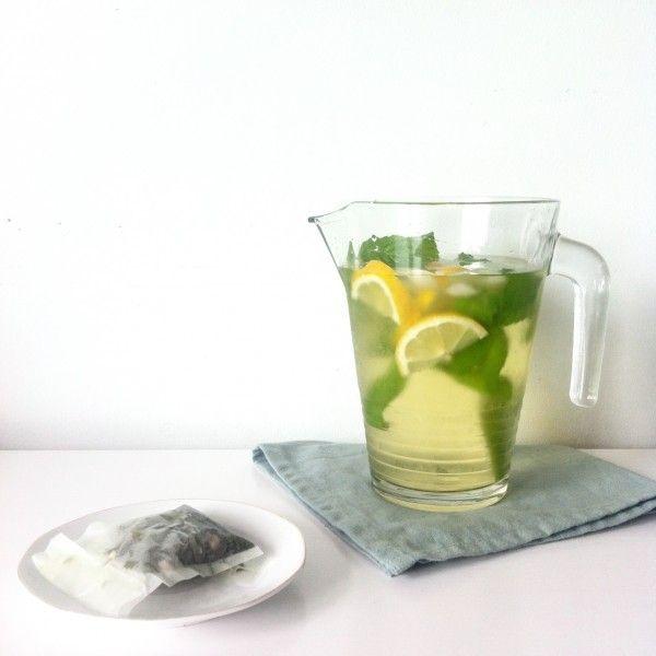 » Homemade suikervrije ijsthee
