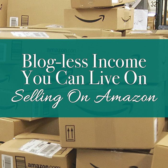 Selling On Amazon Working from home can be profitable and doesn't have to include a blog!