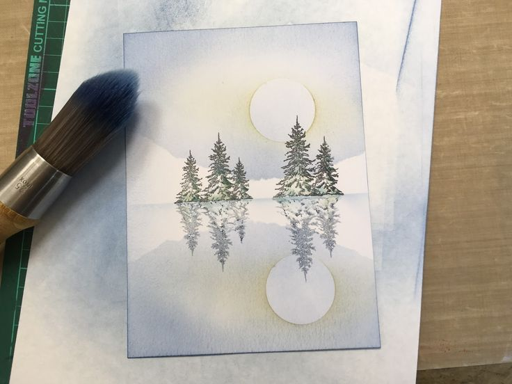 Barbara Gray's Blog. One Day at a Time.: Think Ink on Tuesday - Gel Press Plate Reflection Technique