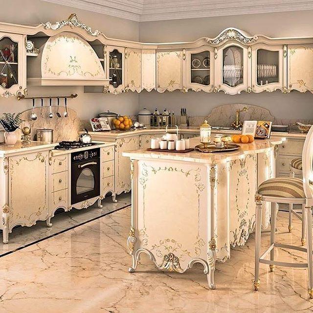 "2,153 Likes, 6 Comments - Furniture & Interior Design (@classical_interior) on Instagram: ""#kitchen #kitchens #kitchendecor #kitchendesign"""