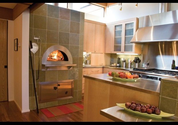 Price: $6,500 - $9,550     Forget pizza deliveries. A Mugnaini Prima wood fired oven turns your kitchen into a gourmet pizza parlor, combining the benefits of modern technology with the heart and soul of an old world oven. With a 48-inch firebrick cooking surface, the oven is also perfect for baking bread.