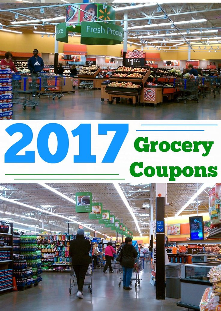 Get grocery coupons