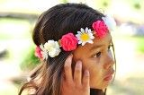 Flower Daisy Hair Crown - www.kaftankids.com.au