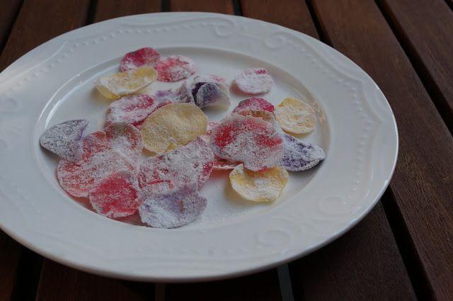 The Fairy Thing: Az ehető virágok nyomában #6 // Kandírozott szirmo...