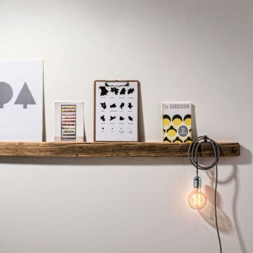 weld & co | Charming Shelves of Reclaimed Wood