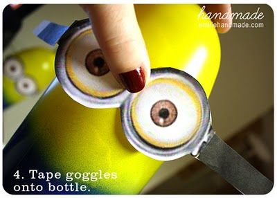 minion party with links to printables