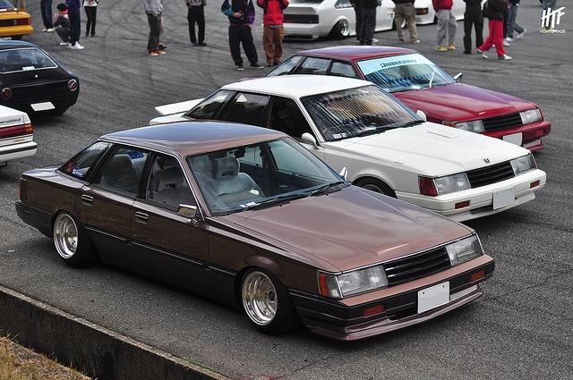 Kamekichi 日産 F30 レパード ミカミオート旧車ミーティング Kamekichi Nissan F30 Leopard Old School Cars Retro Cars Nissan
