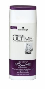 SCHWARZKOPF ESSENCE ULTIME SHAMPOO 250ML BIOTIN+ VOLUME