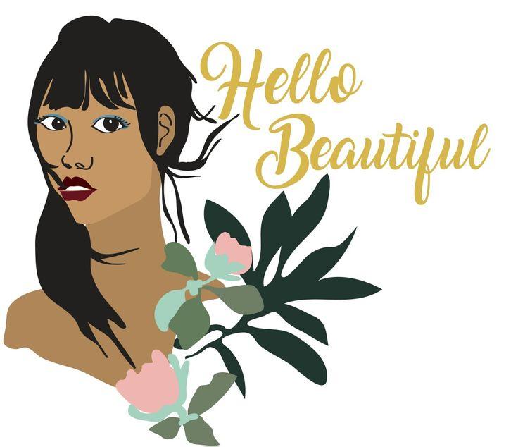 #illustration #digital #flowers #profile