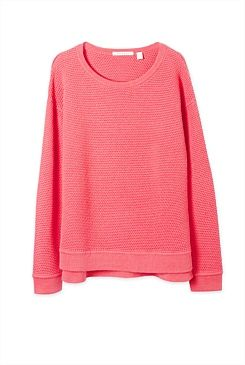 Textured Knit Pullover - From Trenery