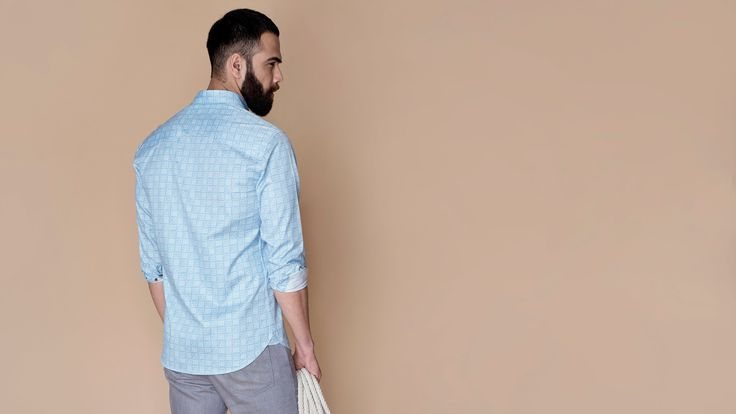 Buy Blue Slate luxury shirts for men online at Andamen at the best price. Andamen is the leading online portal for premium branded shirts for men in India. Free shipping and 60 days free returns