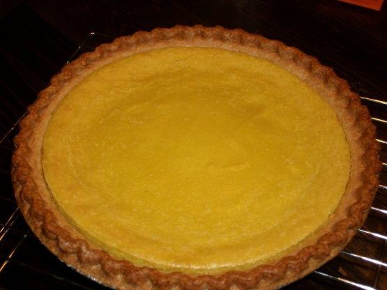Lemon Yellow Squash Pie Recipe - Food.com: Food.com