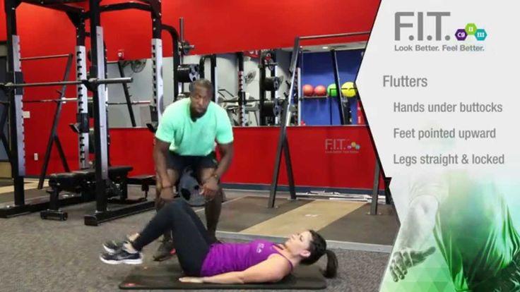 F.I.T. Exercises - Flutters  http://myforeverfit.flp.com