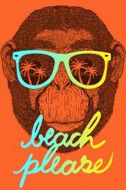 Estampa Beach Please
