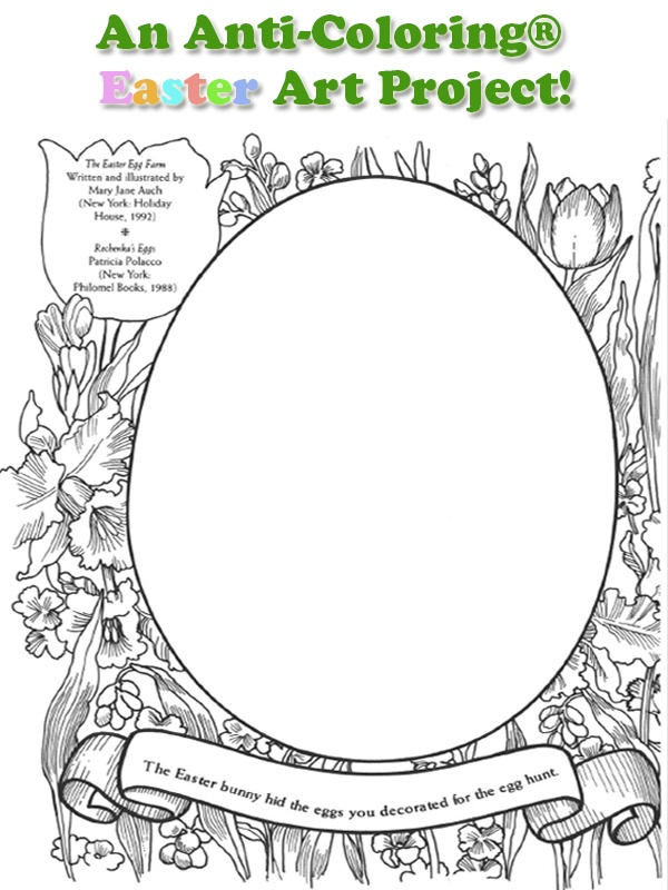 anti coloring book pages - photo#13